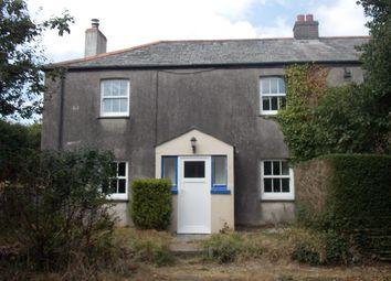 Thumbnail 2 bed semi-detached house to rent in Pentewan, St. Austell