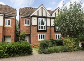 Thumbnail 4 bed semi-detached house for sale in Burman Close, Leamington Spa