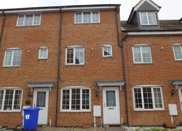 Thumbnail 3 bed town house for sale in Barker Round Way, Stretton, Burton On Trent