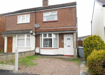 Thumbnail 2 bed semi-detached house for sale in Stoneley Avenue, Crewe