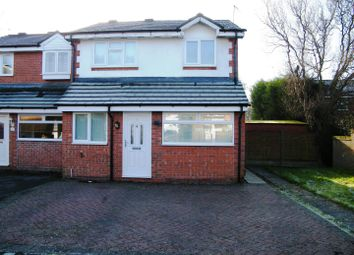 Thumbnail 3 bed semi-detached house to rent in Briarwood Close, Gonerby Hill Foot, Grantham