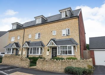 Thumbnail 4 bed end terrace house for sale in Kingfisher Road, Shepton Mallet