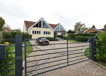 Thumbnail 5 bed detached house for sale in Hill Bottom, Whitchurch Hill, Reading