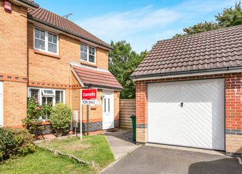 Thumbnail 3 bed semi-detached house for sale in Lulworth Close, Crawley