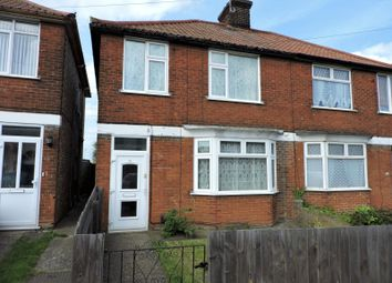 Thumbnail 3 bedroom semi-detached house to rent in Hadleigh Road, Ipswich