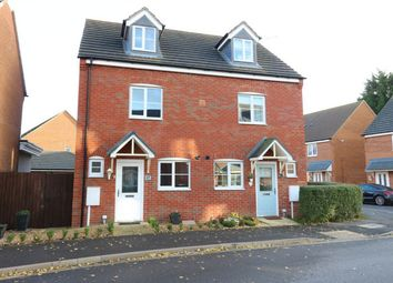 Thumbnail 3 bed semi-detached house for sale in Tooley Way, Deeping St James, Market Deeping, Lincolnshire