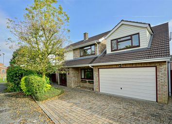 Thumbnail 5 bed detached house for sale in Eaton Ford, St Neots, Cambridgeshire