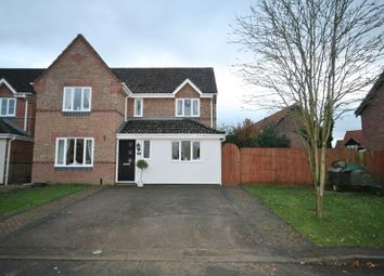Thumbnail 4 bed detached house for sale in Bracken Drive, Attleborough