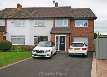 Thumbnail 4 bed semi-detached house to rent in Regents Close, Vicars Cross, Chester