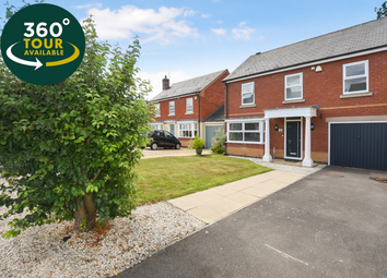 Thumbnail 4 bed detached house for sale in Fox Pond Lane, Oadby, Leicester