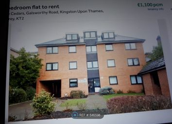 Thumbnail 1 bed flat to rent in The Cedars, Kingston Upon Thames