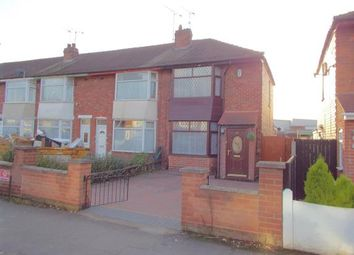 Thumbnail 3 bed end terrace house for sale in Rosedale Avenue, Leicester, Leicestershire