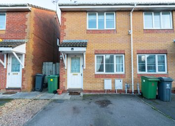 Thumbnail 2 bedroom end terrace house for sale in Hind Close, Pengam Green, Cardiff