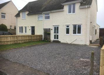 Thumbnail 3 bedroom semi-detached house to rent in Trebeferad, Boverton, Llantwit Major