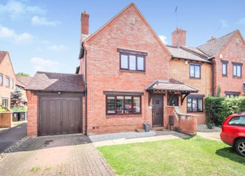Thumbnail 3 bed end terrace house for sale in Lunchfield Gardens, Moulton, Northampton