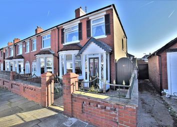 Thumbnail 3 bed end terrace house for sale in Harlech Avenue, Blackpool, Lancashire