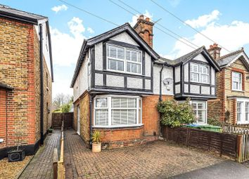 3 bed semi-detached house for sale in Rydens Grove, Hersham, Walton-On-Thames KT12