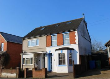 Thumbnail 3 bed semi-detached house to rent in Church Road, Aldershot
