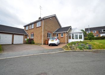 Thumbnail 5 bed detached house to rent in Wileman Close, Earl Shilton, Leicestershire