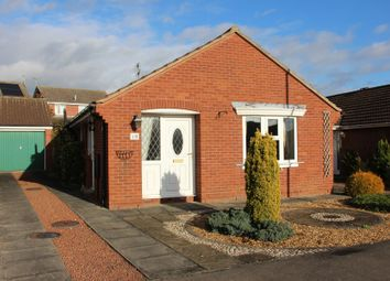 Thumbnail 2 bed detached bungalow for sale in Stonefield Avenue, Easingwold, York