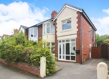 Thumbnail 3 bed semi-detached house for sale in Springfield Road, Gatley, Cheadle