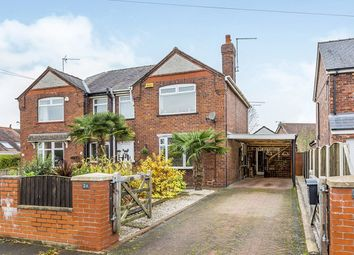Thumbnail 3 bed semi-detached house for sale in Clifton Road, Elworth, Sandbach