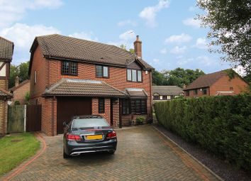 Thumbnail 4 bed detached house for sale in Osmund Close, Worth, Crawley, West Sussex.