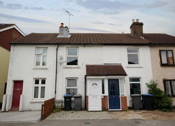 Thumbnail 2 bed terraced house to rent in Victoria Road, Addlestone, Surrey