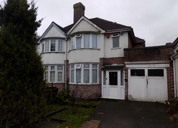 Thumbnail 3 bed semi-detached house for sale in Cliveden Avenue, Perry Barr, Birmingham