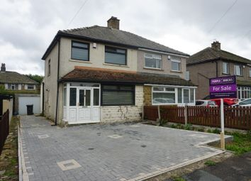 Thumbnail 3 bed semi-detached house for sale in Uplands Grove, Bradford
