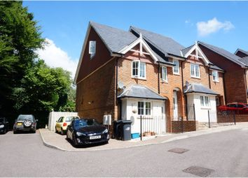 Thumbnail 3 bedroom end terrace house for sale in Lincoln Way, Crowborough