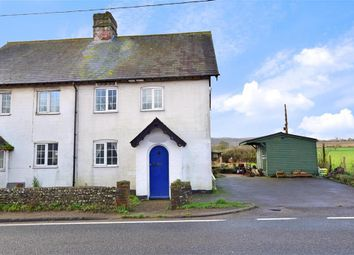 Thumbnail 2 bedroom semi-detached house for sale in Bury Common, Bury, Pulborough, West Sussex