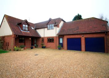 Thumbnail 4 bed detached house for sale in The Willows, Glinton, Peterborough