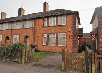 Thumbnail 3 bed end terrace house for sale in Hockley Farm Road, Leicester