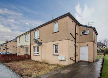 Thumbnail 2 bed flat for sale in Carmuirs Avenue, Camelon, Falkirk