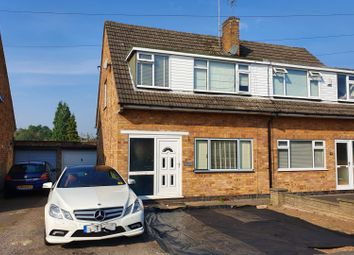 Thumbnail 3 bed semi-detached house for sale in Elsalene Drive, Groby, Leicester