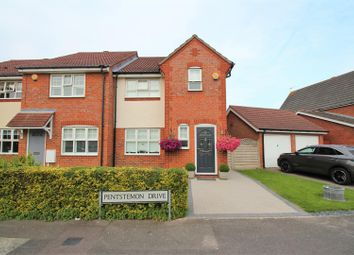 Thumbnail 3 bed end terrace house for sale in Pentstemon Drive, Swanscombe