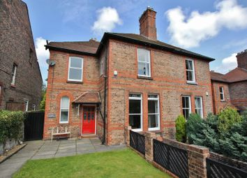 Thumbnail 5 bed semi-detached house for sale in Village Road, Oxton, Wirral
