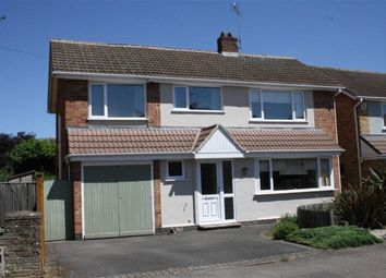 Thumbnail 4 bed detached house for sale in Salcombe Drive, Glenfield, Leicester