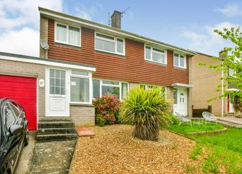 Thumbnail 3 bed semi-detached house for sale in Fernhill Close, Ivybridge