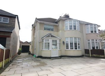 Thumbnail 3 bed semi-detached house for sale in Queens Drive, Wavertree, Liverpool
