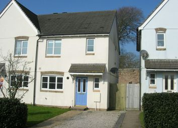 Thumbnail 3 bed property to rent in Rowan Close, Bodmin