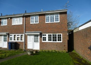 Thumbnail 3 bedroom end terrace house to rent in Oaklands, Haslemere