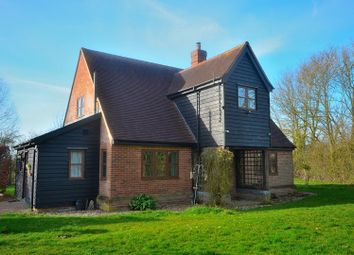 Thumbnail 3 bed detached house to rent in Thaxted Road, Wimbish, Saffron Walden
