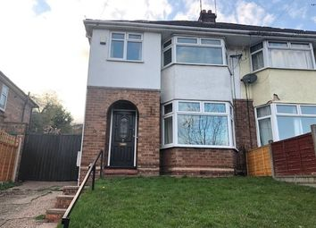 Thumbnail 3 bed semi-detached house to rent in Henwood Road, Wolverhampton