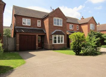 Thumbnail 4 bed detached house for sale in Thornton Close, Crick