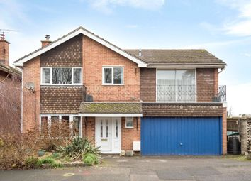 Thumbnail 4 bed detached house for sale in Stapleton Close, Highworth, Wiltshire