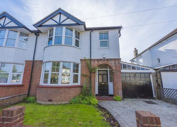 Thumbnail 3 bed semi-detached house to rent in Old Farm Avenue, Sidcup, Kent
