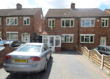 Thumbnail 3 bedroom semi-detached house for sale in Bromford Lane, Ward End, Birmingham
