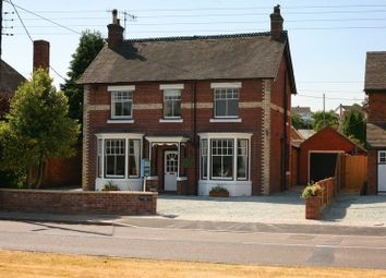 Thumbnail 4 bed detached house for sale in Ashleigh Villa, Stone Road, Eccleshall, Staffordshire.